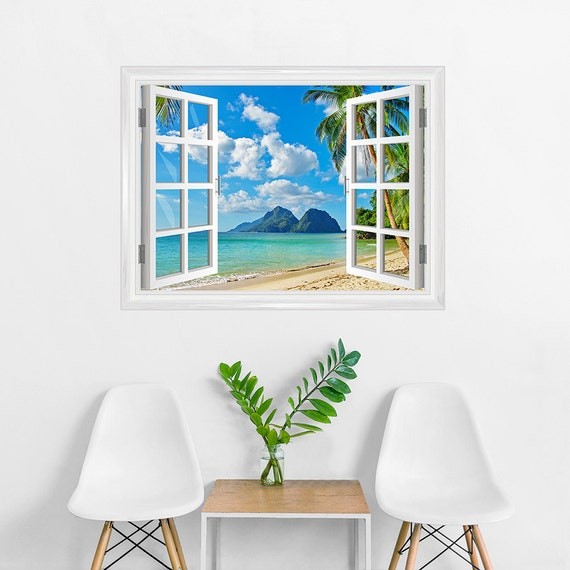 Tropical Paradise Wall Decal by WallumsWallDecals
