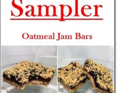 SAMPLER. Jam bar sampler. 6 bars in 6 flavors. LIMITED STOCK