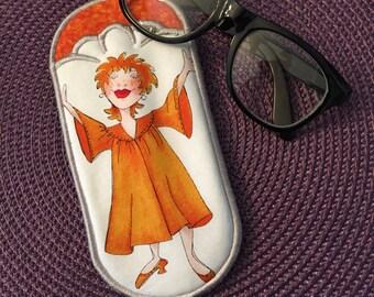 Church/Choir Lady Eyeglass Case