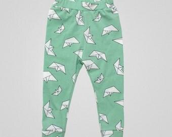 Easy Cuff Leggings PDF Sewing Pattern & Tutorial, boys, girls, babies, toddler, kids