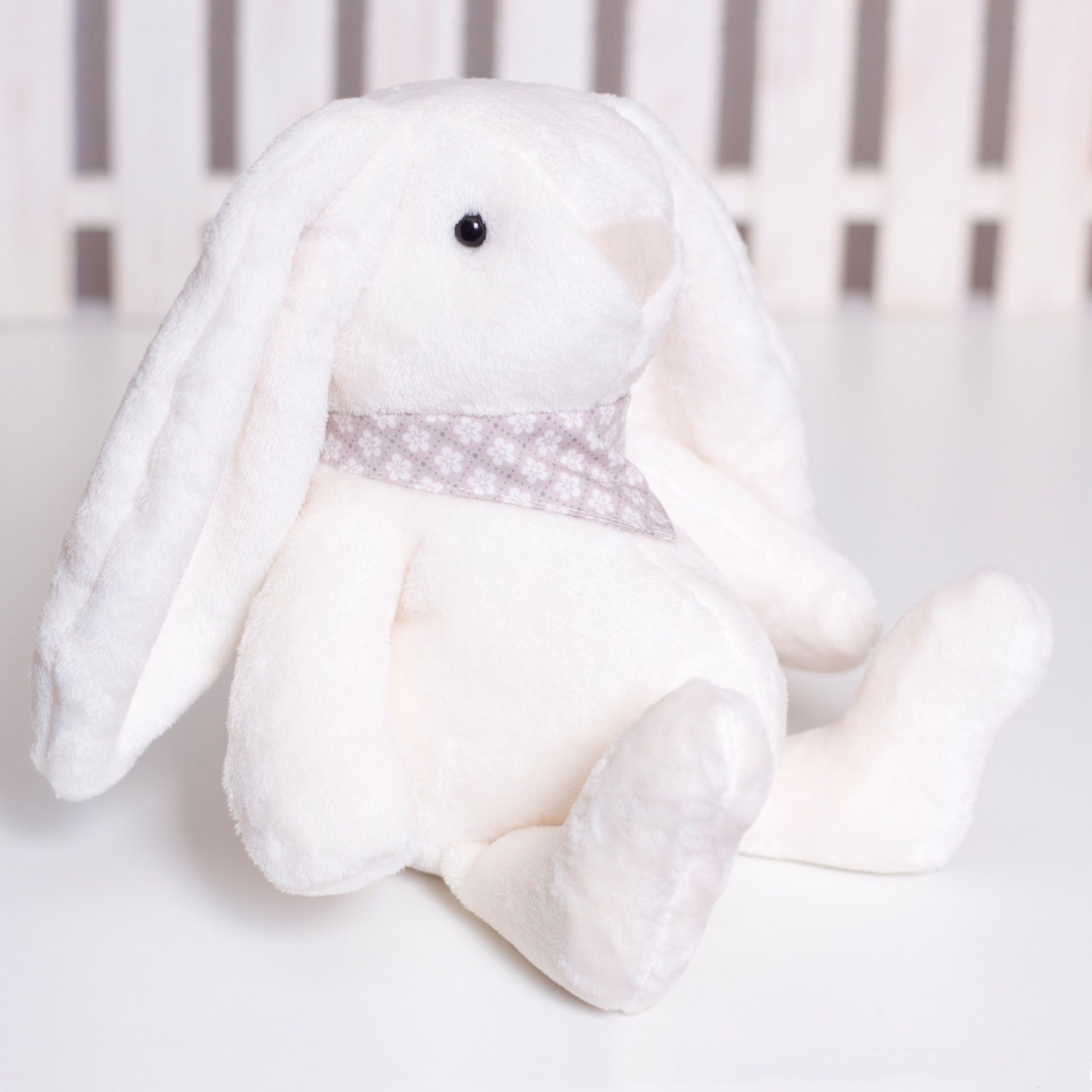 bunny template for sewing - fluffy bunny sewing pattern soft animal pdf tutorial