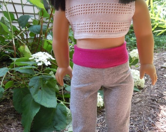Exercise outfit for 18 inch or American girl doll