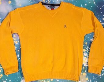 Tommy HILFIGER yellow Shirt Men's Size XL
