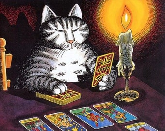 3 Cards -One Question Reading - Intuitive Tarot Card Reading via Etsy Convo-(For People, Not Pets)