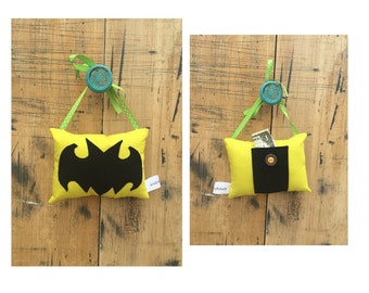 A Tooth Fairy Pillow/BatMan/Bat Man Toothfairy Pillow