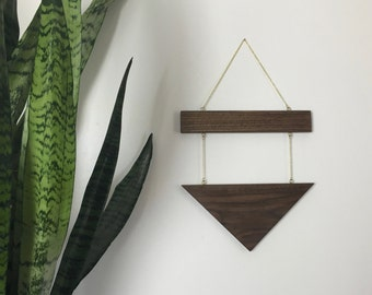 Modern Geometric Wall Hanging