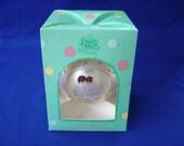 Precious Moments 1989 Glass Ornament in Original Box