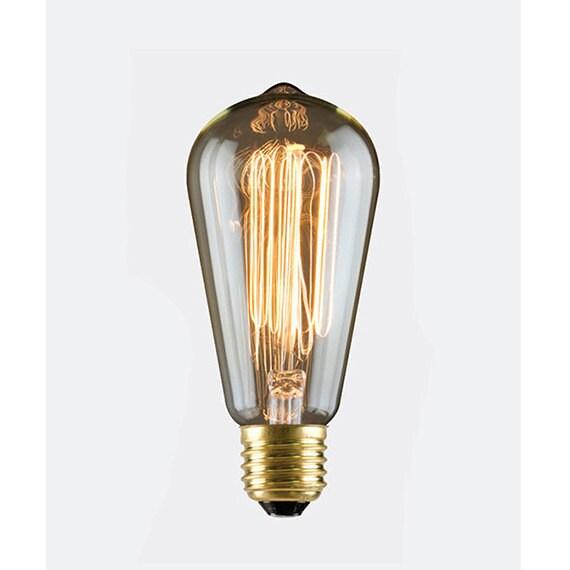 30W Nostalgia Era S-21 Antique Edison Style Squirrel Cage Filament Bulb