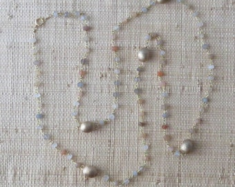 Moon Station Layering Necklace