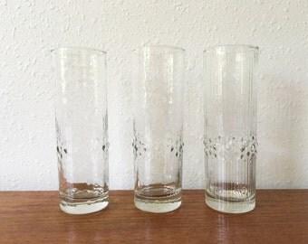Vintage Durobor Alaska Highball Glasses  // Belgium
