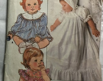 Back to 70s kids  sewing pattern butterrick 6718