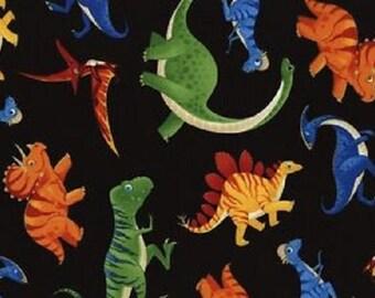 Fat Quarter Dinosaurs 100% Cotton Quilting Fabric Timeless Treasures C3064