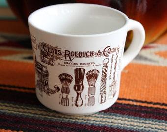 Sears ad Roebuck Shaving Mug