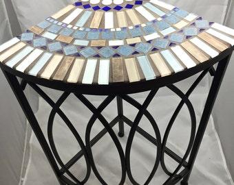 Mosaic Corner Table
