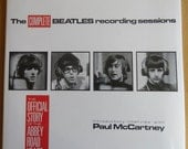 Vintage Music Book - The Complete Beatles Recording Sessions, First Edition 1988, The Beatles Help!  Souvenir Song & Film Book 1965