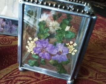 3 Piece Purple Dresser/Vanity Set