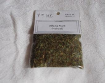 ORGANIC Tea-Herbal Tea- Alfalfa Mint