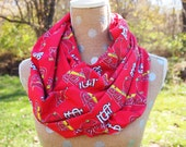 LAST ONE!  St. Louis Cardinals MLB Baseball GameDay Infinity Scarf, Fast Shipping