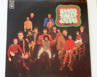 """Blood Sweat & Tears - Child Is Father to the Man - """"So Much Love"""" - Original Columbia Records 1968 - Vintage Vinyl LP Record Album"""
