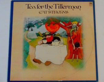 "Cat Stevens - Tea for the Tillerman - ""Wild World"" - ""Hard Headed Woman"" - Original A&M Records 1970 - Vintage Vinyl LP Record Album"