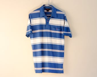 Vintage Van Heusen mens polo - lightweight summer shirt - mens Medium