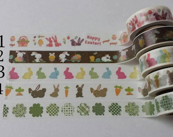 Spring Holidays Washi Tape Sample Eater and St. Patricks Day