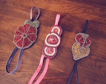 Beaded Headbands 2