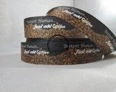 Coffee Bean 1 Inch Grosgrain Ribbon By the Yard RN15303