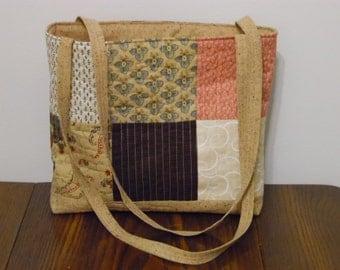 Tote Bag, Quilted Tote Bag, Quilted Purse, Quilted Bag