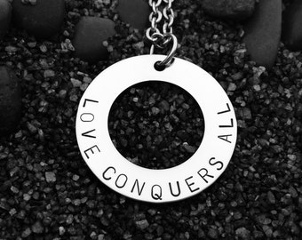For Orlando: Love Conquers All Necklace