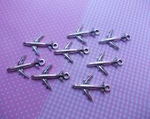 aircraft, 10 pieces jewelry materials