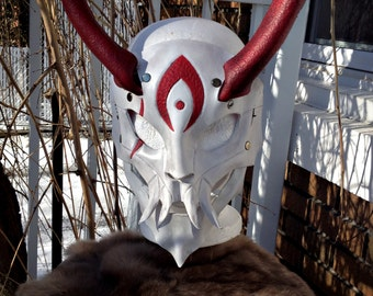 Blood Moon Kalista Leather mask,leagueoflegends, league of legends,lol, masque,cosplay,larp,costume,fantasy,adc,league,cuir,masquerade