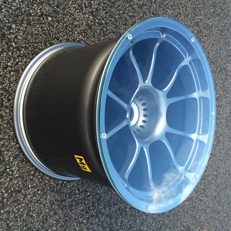 Aston Martin racecar wheel rim coffee side table Ultimate
