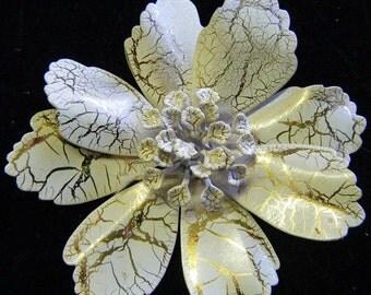 25% Off Storewide Sale 1960's Vintage Enameled Floral Pin or Brooch