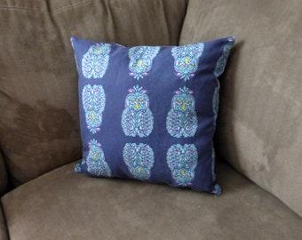 Midnight Owl Accent Pillow 15x15