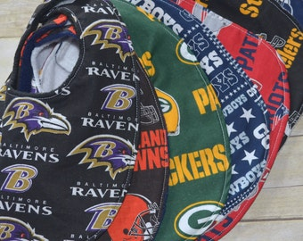 NFL Football Baby Bibs Choose your Team