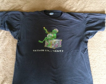 Vintage Taylor University Kermit the Frog T-Shirt