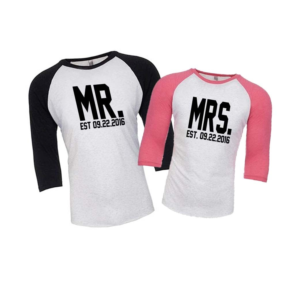 Honeymoon Shirts Husband And Wife Shirts Just Married