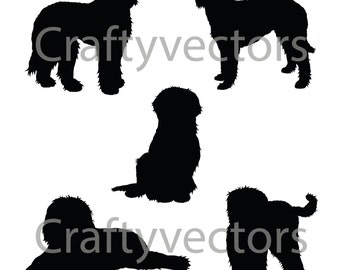 Labradoodle Silhouettes