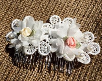 Flower girl hairslide/hair band/lace/ flower/ hair clip