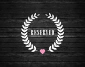 reserved for lisa orengo
