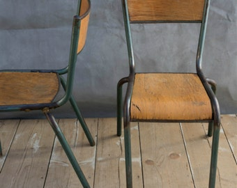 Mullca 510 Vintage French Dining Chairs