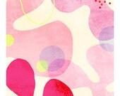 """A5 A4 A3 Artprint """"Cosmogonie"""" (Motifs Emotifs serie) (limited edition)"""