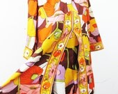 1960s At Home Wear by Van Raalte Pucci Style Lounging Set