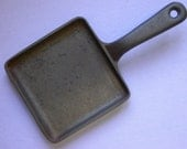 Cast Iron USA 68H-1 Small 5 Inch Square Fry Skillet Vintage Sandwich Pan