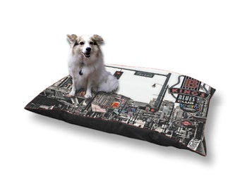 Pet Bed Dog Bed Beale Street Memphis Tennessee Street Scene 18x28 30x40