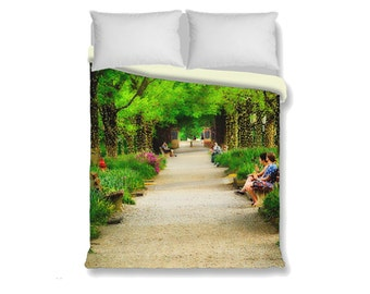 Duvet Comforter Cover Kenyon College Gambier Ohio Middle Path