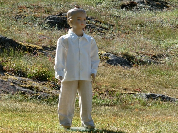 Boys Beach Wedding Suit Ring Bearer Outfit Wedding Party