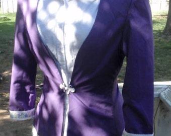 Steampunk/ Victorian Bustled Coat