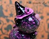 Witch Apprentice Miya Polymer Clay Piglet Figurine